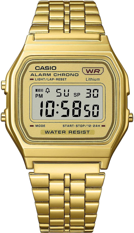 CASIO Digital A158WETG-9AEF