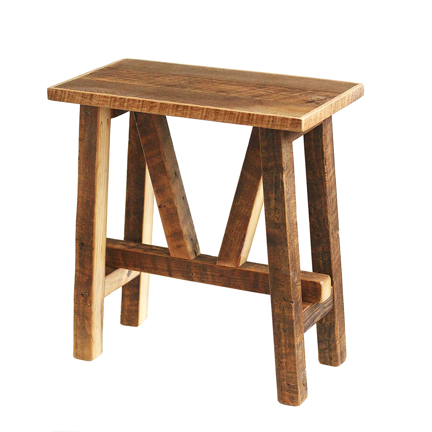 Reclaimed Wood End Time sale Table - Bedside Side Ta Accent Max 65% OFF Table-