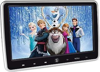LOSKA ヘッドレストモニター DVDプレーヤー CPRM/HDMI対応 10.1インチ ポータブルDVDプレーヤー 高画質1024*600 USB/SD/AV-IN/AV-OUT付き スピーカー内蔵 後部座席 軽薄設計 簡単取付 シガーアダプター付き
