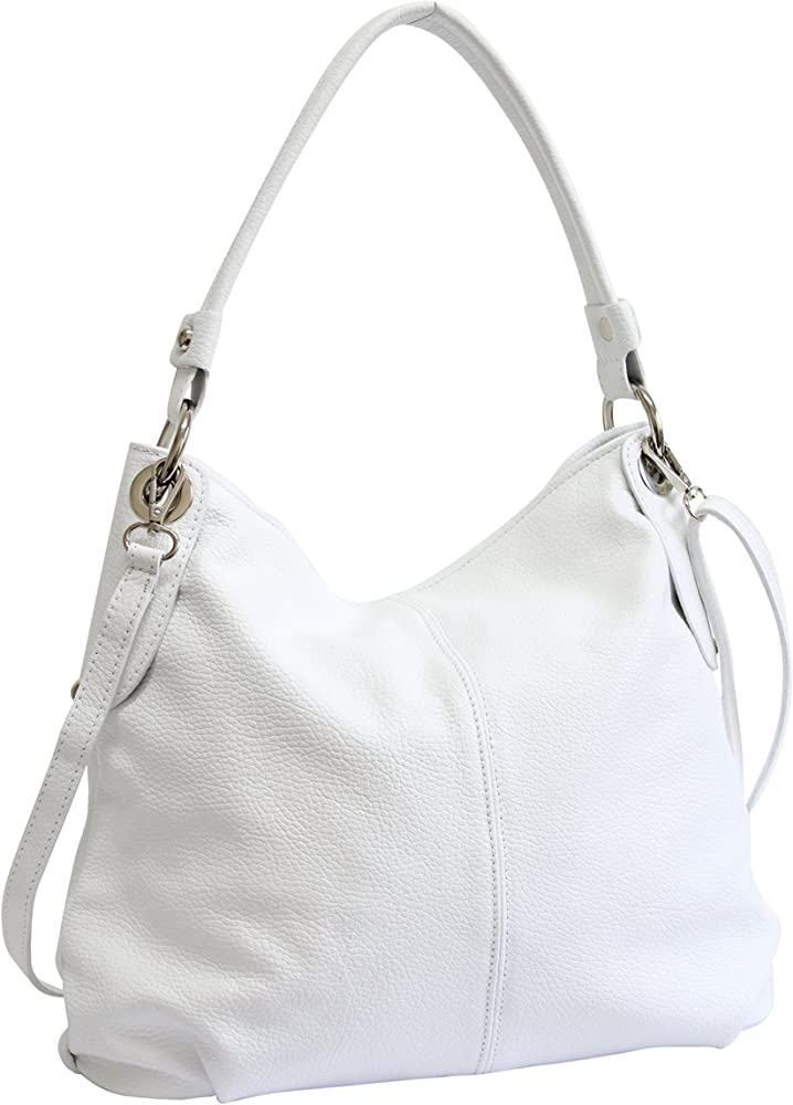 Ambra moda borsa da donna a spalla/tracolla in vera pelle GL012F