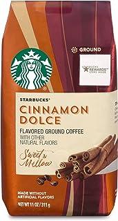 Starbucks Cinnamon Dolce Flavored Blonde Light Roast Ground Kaffe 11Oz