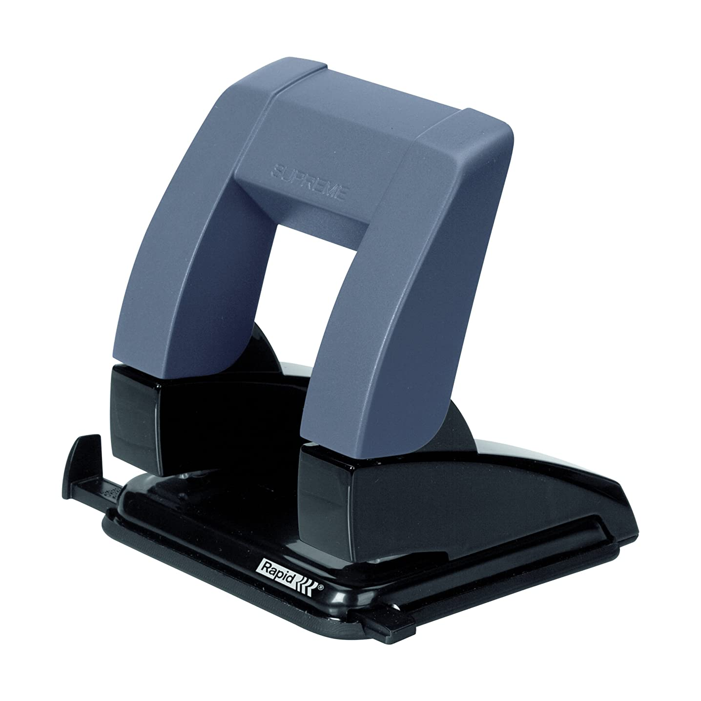 Rapid SP20 Press Less 24845411 Office Hole Punch Metal in Blister Packaging Capacity 20 Sheets / Black