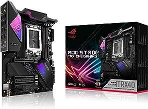 Asus ROG Strix TRX40-E Gaming AMD 3rd Gen AMD Ryzen Threadripper sTR4 ATX Motherboard with 16 Power Stages, Onboard WiFi 6...
