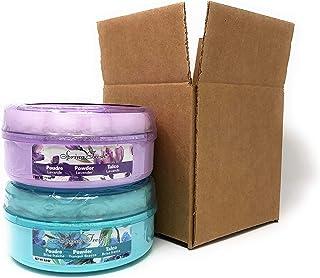 Belcam Bath Therapy Spring Fresh Dusting Powder Lavender (5 oz) Bundle with Tranquil Breeze (5 oz)