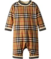 Burberry Kids - Michael Long Sleeve Overalls (Infant)