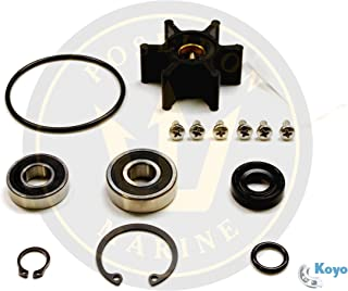 Poseidon Marine Major Water Pump Repair kit for Yanmar 2GM20-YEU 3GM30-YEU 2YM15 3YM20 3YM30 Pumps 128377-42500 128397-42500 128990-42500 128990-42510
