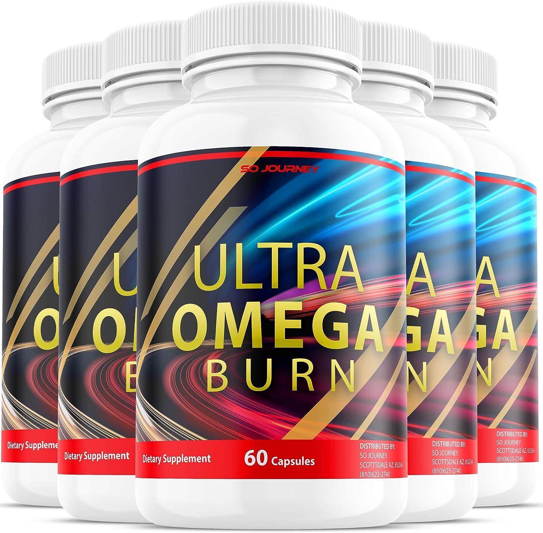 5 Pack Ultra Omega 現品 Burn Pills Supplement Ult for Pil Men 物品 Women