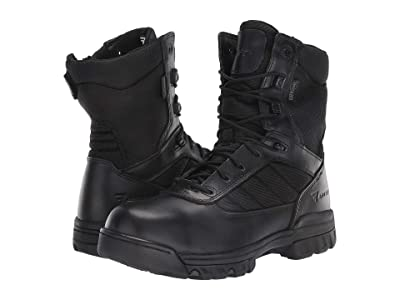 Bates Footwear 8 Tactical Sport Dryguard Side Zip (Black) Men