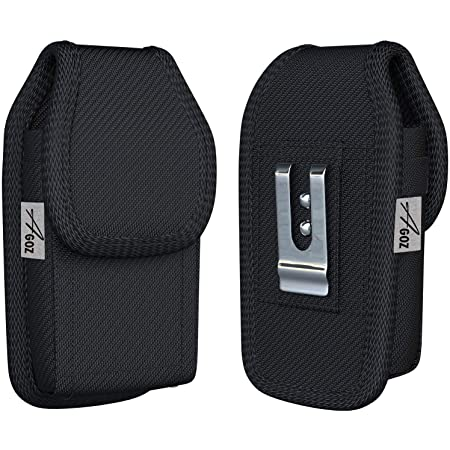 TC57 TC21 TC25 TC55 Rugged Carrying Case Pouch TC20 TC51 Agoz Barcode Scanner Holster for Zebra TC50 Cover with Metal Clip /& Belt Loops TC56 TC52 TC26 to fit with Handheld Grip Trigger