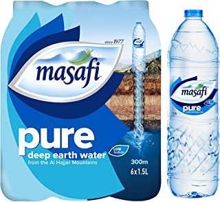 Masafi Pure Water 1.5Ltr Pack Of 6(Pack of 1)