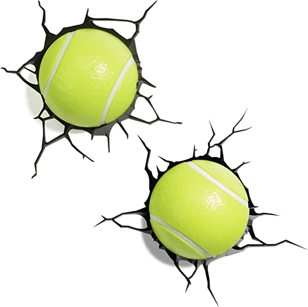 3DLightFX Sports Tennis Balls 3D Deco Light