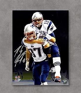 Kai'Sa Tom Brady Rob Gronkowski New England Patriots Autographed Replica Poster Art Print Posters,18''×24'' Unframed Poster Print