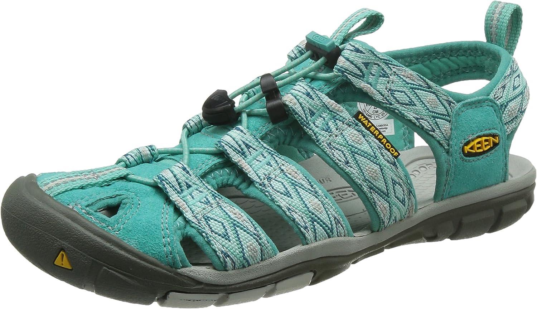 Damen Clearwater CNX Geschlossene Sandalen mit mit Keilabsatz  Beste Preise und frischeste Styles