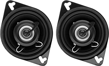 $21 » Planet Audio TRQ322 3.5 Inch Car Speakers - 140 Watts of Power Per Pair, 70 Watts Each, Full Range, 2 Way, Sold in Pairs (...