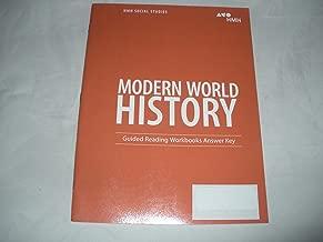Modern World History Guided Reading Workbooks Answer Key
