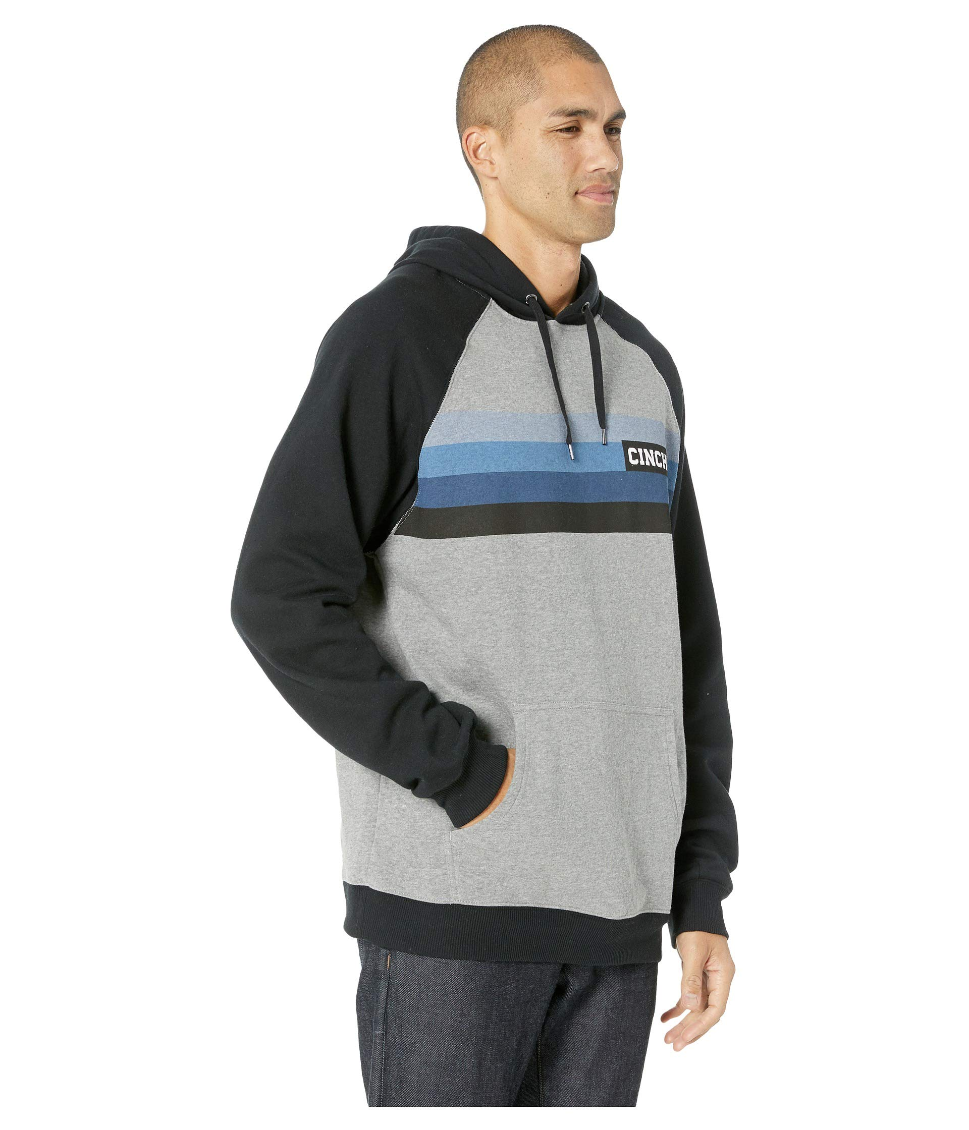 Fleece Cinch Hoodie Cinch Multicolor Fleece zEwHzdq