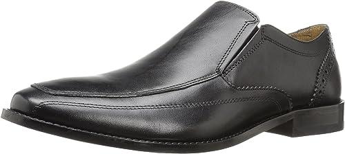 Florsheim Men& 039;s Montinaro Moc Toe Slip On Dress schuhe Loafer, schwarz, 11 D US