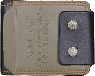 Mundkar Men Rifid Protection Wallet (Green)