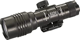 Streamlight 88058 ProTac Rail Mount 1 350 Lumen Professional Tactical Flashlight with High/Low/Strobe use 1x CR123A, 1x AA or 1x AA Li-iON Batteries - 350 Lumens