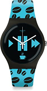 [Swatch] SWATCH Watches New Gent (Nugent) Coffee Blue-S SUOC106 [Regular Imported Goods]