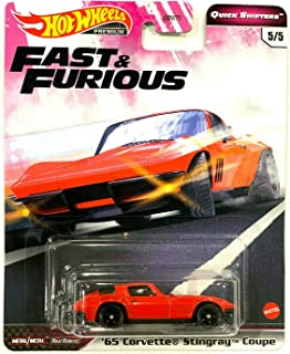 DieCast Hotwheels 2020 Premium Fast & Furious Quick Shifters 5/5 '65 Stingray-Corvette Coupe (red)