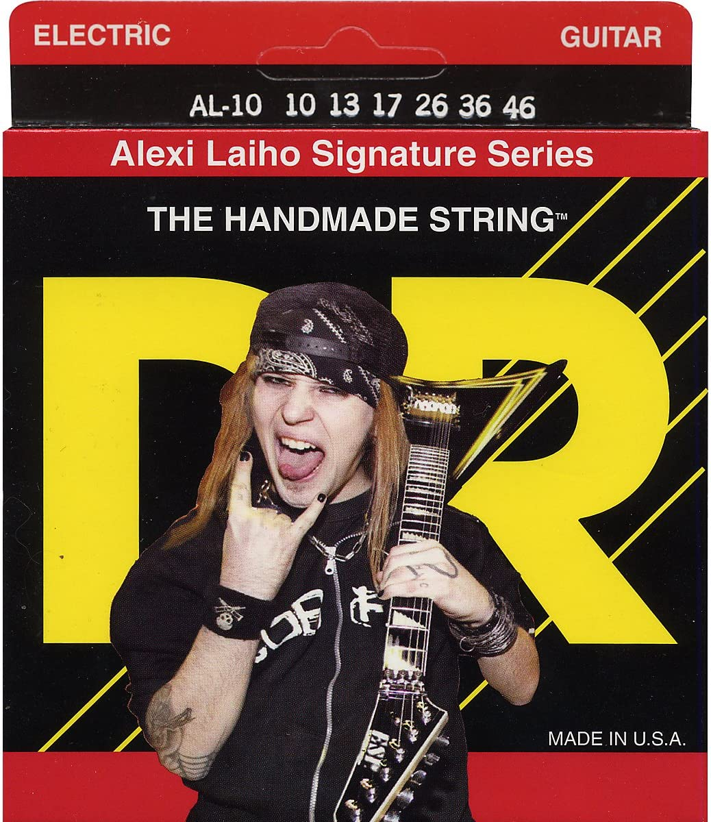 DR trend rank Strings Alexi Laiho Signature - Guitar Large discharge sale Electric Mediu