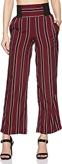 KRAVE Women's Striped Relaxed Pants
