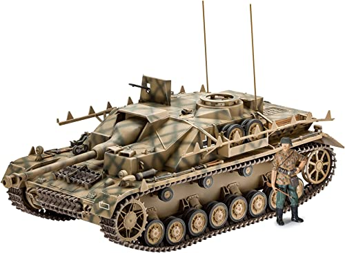 """Revell-SD.Kfz. 167"""" StuG IV Maqueta Tanque de Guerra, 12+ Años, Multicolor (3255) product image"""