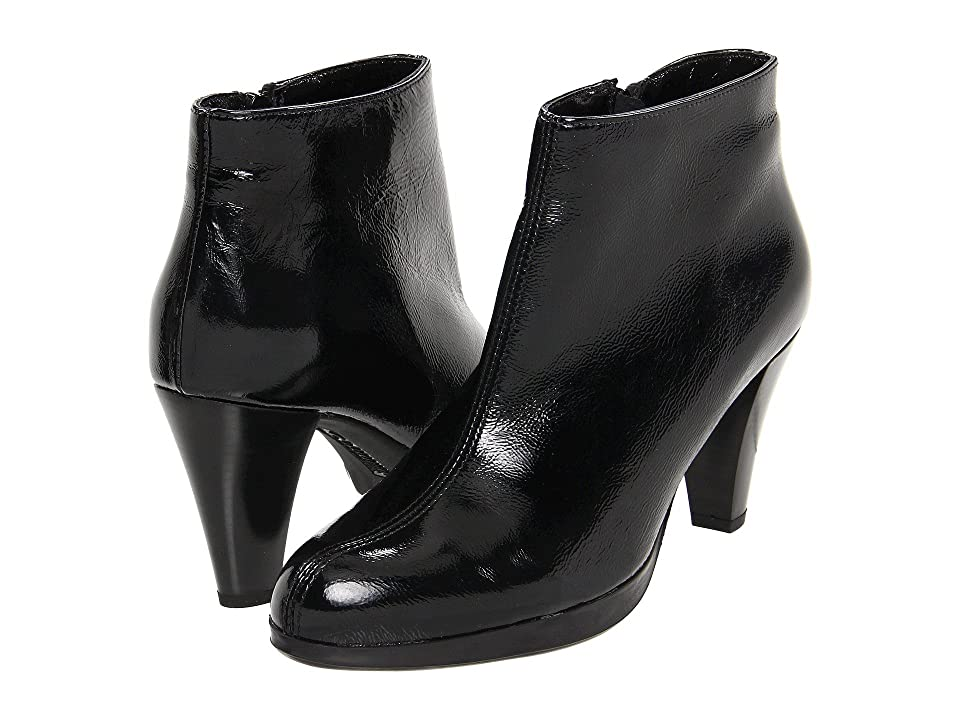 La Canadienne Megan (Black Crinkle Patent) Women