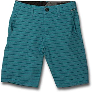Volcom Big Boys Frickin Surf N' Turf Mix Hybrid Shorts Hydro Blue