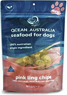 Pink Ling Chips - Seafood for Dogs (Treats) 113g/4 oz