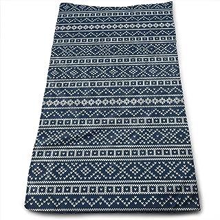 QuGujun Turkish Towels Textured Tartan Plaid Super Soft Absorbent Sports/Beach/Shower/Pool Towel