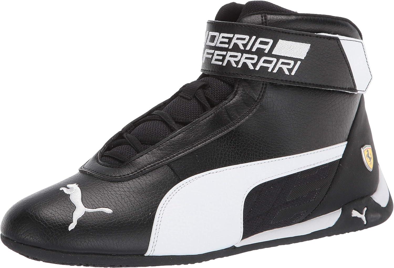 PUMA Unisex-Adult Ferrari R-cat Louisville-Jefferson County Max 40% OFF Mall Mid Sneaker
