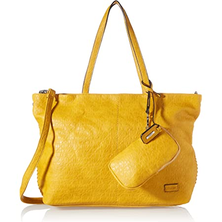 Rieker Damen H1058 Handtasche, Gelb, 450x120x280