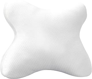 Amazon Basics - Almohadas con espuma viscoelástica para personas que duermen boca abajo (60x50x10cm)
