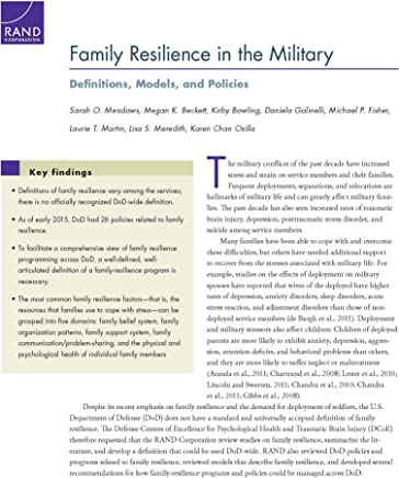 Family Resilience in the Military: Definitions, Models, and Policies ([Research report] ;)