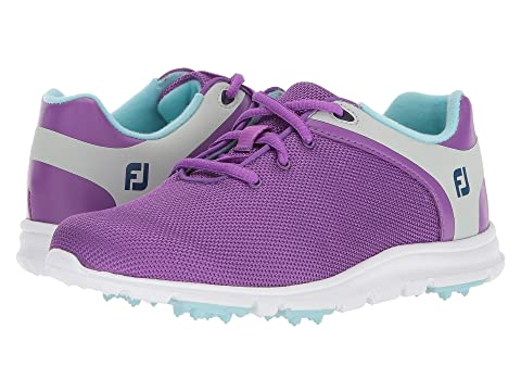 b5ae72d9665d FootJoy Empower Spikeless (Little Kid Big Kid) at Zappos.com