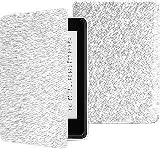 ATiC Amazon Kindle Paperwhite専用スーパー軽量薄型ケース (オートスリープ機能付き 2012/ 2013/ 2015/2016/マンガモデル適応) WHITE