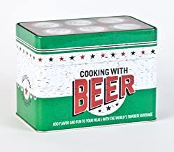 Cooking with Beer Recipe Tin Collection