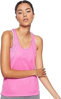 Nike Women's Run Tank, Silver(Active Fuchsia/Reflective Silv623), Small