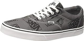 Vans MN Doheny, Men's Shoes, Black ((Logo Mix) pewter/black VF9), 8 UK (42 EU)