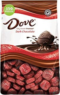 DOVE PROMISES Dark Chocolate Candy 43.07 Ounce 150-Piece Bag