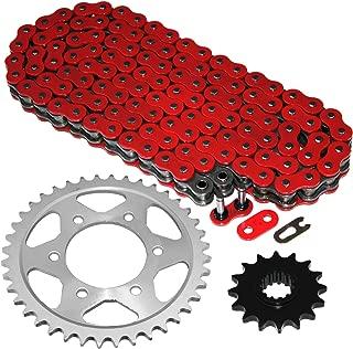 Caltric Red O-Ring Drive Chain & Sprockets Kit Fits HONDA CBR600F4i CBR-600F4i CBR600 F4i 2001-2006