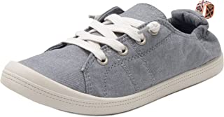 Women's Grateful Comfortable Slip On Sneaker Shoe with No-Tie Laces and Cute Design