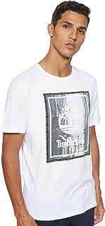 Timberland Men's SS Street Photo T-Shirt