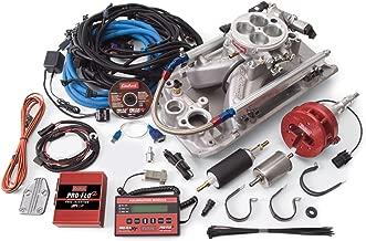 Edelbrock 353001 Pro-Flo 2 Electronic Fuel Injection Kit Polished Finish Incl. Manifold/Throttle Body/Fuel Rails/Fuel Injectors/ECU/Calibration Module Pro-Flo 2 Electronic Fuel Injection Kit