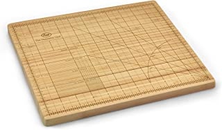 Fred & Friends THE OBSESSIVE CHEF Bamboo Cutting Board, 9-inch by 12-inch