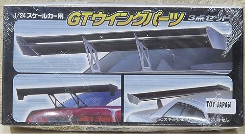 1 24 S Teile Reifen & amp; Radsatz No.113 GT Flügelteile 3-teiliges Set