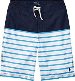 Polo Ralph Lauren Kids - Sanibel Striped Swim Trunks (Big Kids)