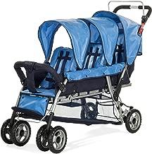triplet infant stroller